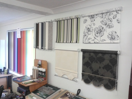 Wymondham Blinds Showroom